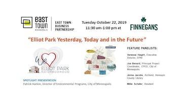 ETBP October 22, Business Forum at Finnegans