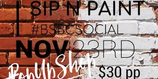 BSBC Social-Sip n' Paint