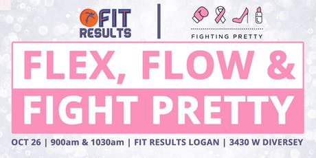 FLEX, FLOW, and FIGHT PRETTY Charity Bootcamp tickets