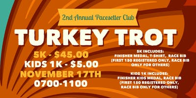 Pacesetter Club Turkey Trot 5K 2019