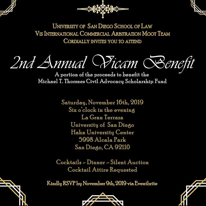 2nd Annual USD VICAM Benefit image