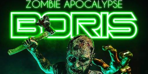 Zombie Apocalypse|BORIS|Cristian Arango|Efra| Sat October 26th @ Hedge Club