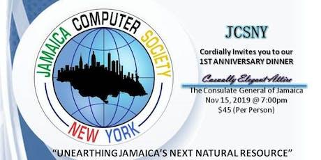 Jamaica Computer Society NY 1st Anniversary Dinner tickets