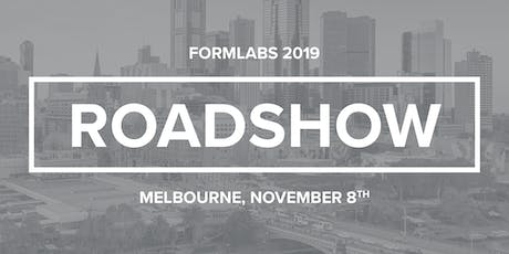 Formlabs Melbourne Roadshow 2019 tickets