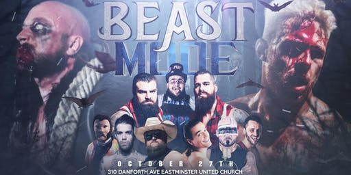 Greektown Wrestling Presents: BEAST MODE! A Halloween Party