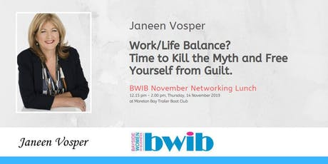 BWIB Networking Lunch - Work/Life Balance tickets