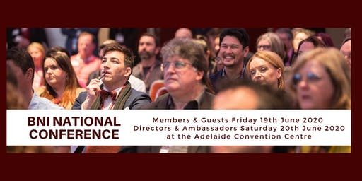 BNI National Conference 2020