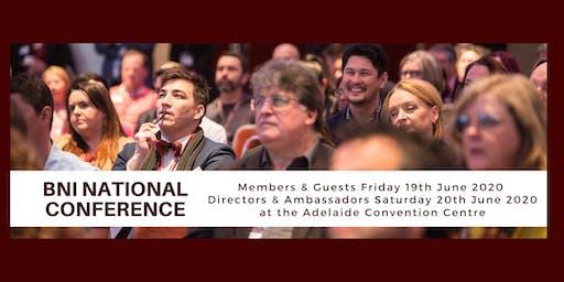 BNI National Conference 2020