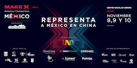 MakeX México 2019 - CreativaFEST boletos