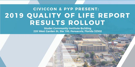CivicCon & PYP Present: 2019 Quality of Life Report Results Rollout