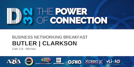 District32 Business Networking Perth – Clarkson / Butler / Perth - Fri 29th Nov tickets