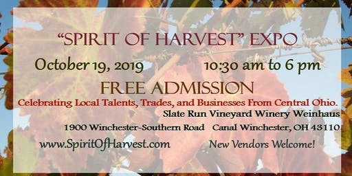 Spirit of Harvest Expo