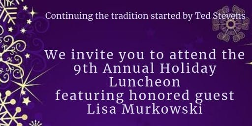 MSSEC Holiday Luncheon with US Senator Lisa Murkowski 2019