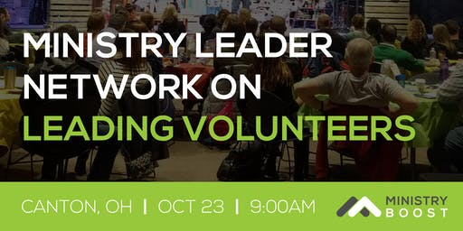 Ministry Leader Network: Leading Volunteers
