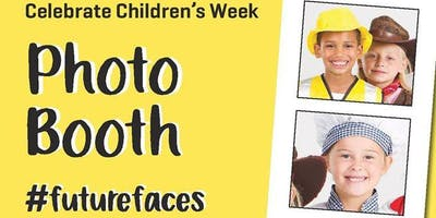 Photo Booth #futurefaces to celebrate Childrens W