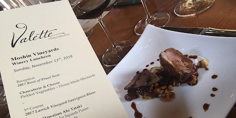 Moshin Vineyards Vintner's Luncheon at Valette Healdsburg tickets