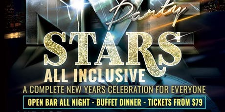 Stars New Year's Eve, all inclusive tickets