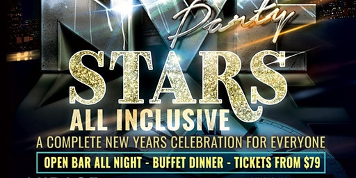 Stars New Year's Eve, all inclusive