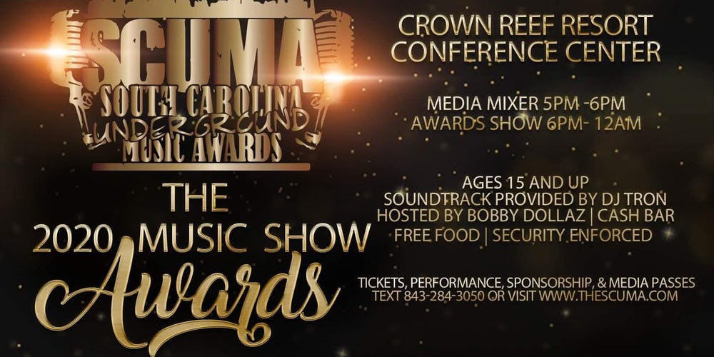 Carolina Crown 2020 Show.The South Carolina Underground Music Awards