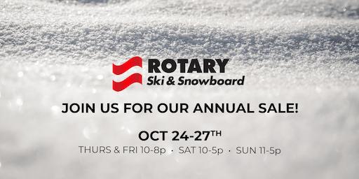 Rotary Ski & Snowboard 2019 ANNUAL SALE!