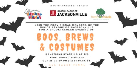 Boos, Brews & Costumes Halloween Party tickets