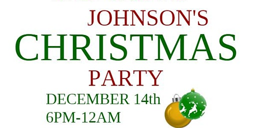 Johnson's Family & Friends Christmas Party