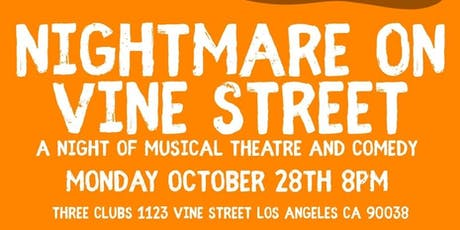 A Nightmare on Vine Street tickets