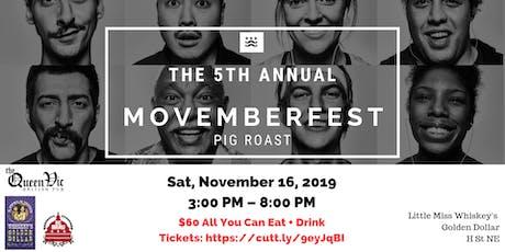 5th Annual Movemberfest Pig Roast tickets