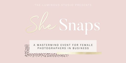 She Snaps - Mastermind Event for Female Photographers in Business