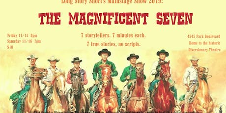 Long Story Short: The Magnificent Seven tickets
