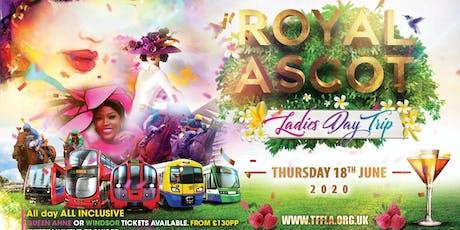 TFFLA Royal Ascot Ladies day trip tickets