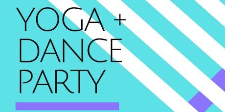 Yoga +  Studio Dance Party tickets