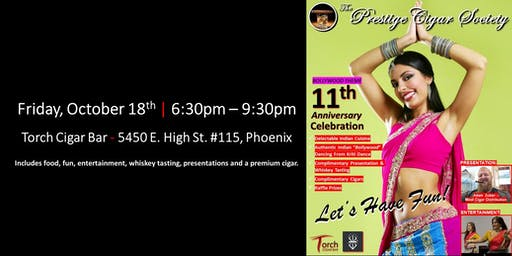 Prestige Cigar Society - 11th Year Anniversary Celebration