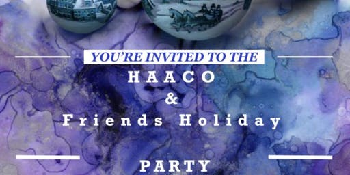 HAACO & Friends Holiday Party.