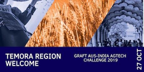 Temora Regional Welcome: Graft Aus-India AgTech Challenge 2019 (FarmLink) tickets