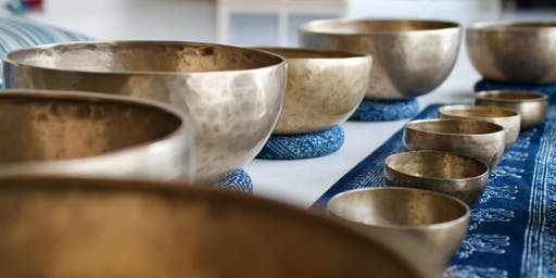 Sound Healing with Singing Bowls Experience