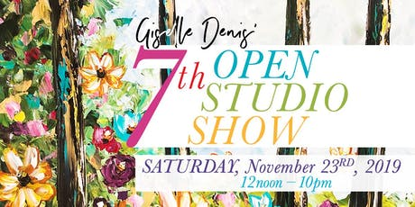 Giselle Denis 7th Open Studio Show tickets