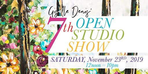 Giselle Denis Nov.23rd Open Studio Art Show