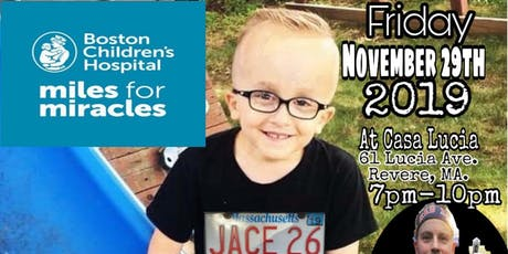 """Miles For Miracles"" an evening for Jace Perkins tickets"