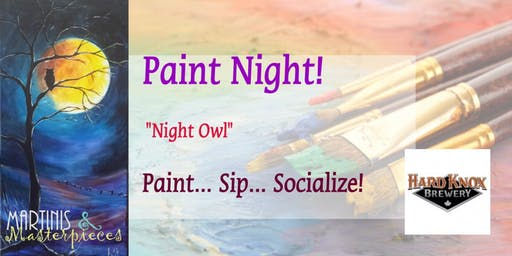 Martinis & Masterpieces - Night Owl