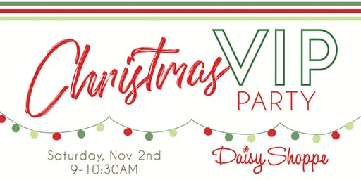 Daisy Shoppe's VIP Holiday Launch Party