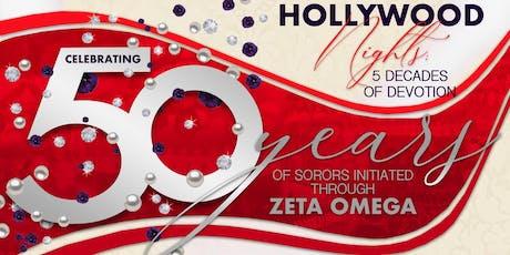 50 years of Sorors Initiated Through Zeta Omega tickets