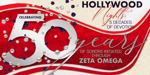 50 years of Sorors Initiated Through Zeta Omega
