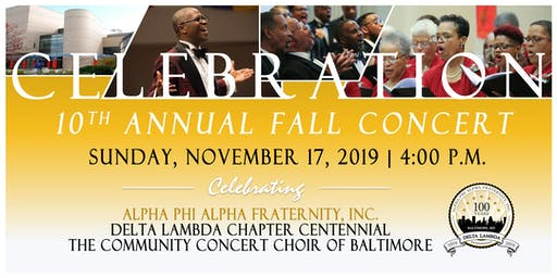 Celebration | 10th Annual Fall Concert