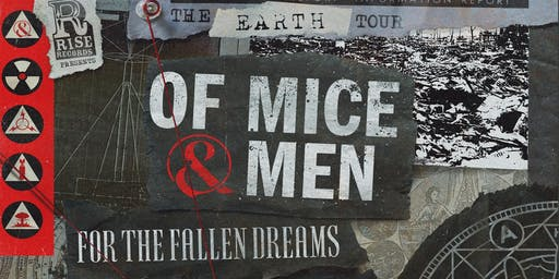 Of Mice & Men • For The Fallen Dreams • Thousand Below • Bloodbather