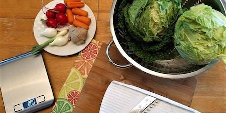 Beginner Vegetable Fermentation Class tickets