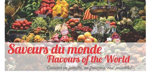 """Atelier de cuisine """"Saveurs du monde / Flavours of the world"""" (Milton)"""