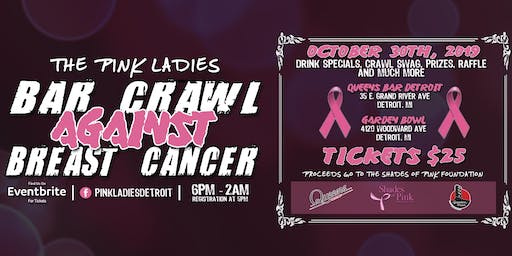 The Pink Ladies Bar Crawl