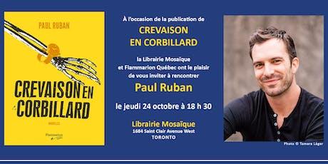 Rencontre dédicate avec Paul Ruban - les jeudis à la librairie tickets