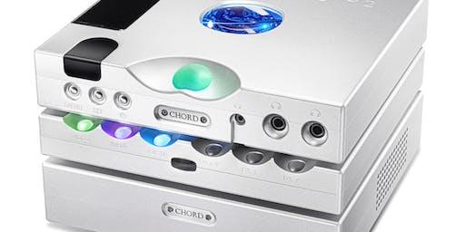 CHORD electronics presents worlds best Digital Audio, by Robb Watts.